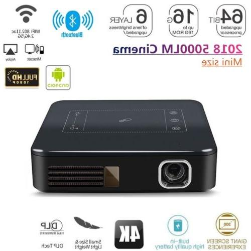 mini dlp projector 5000 lumens 2g 16g