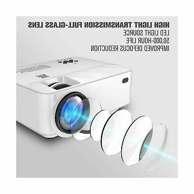 2019 Mini DBPOWER Projector for