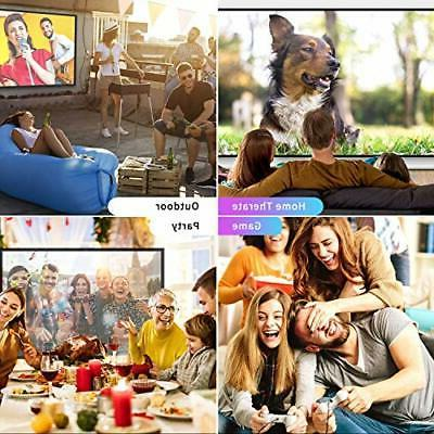 ELEPHAS Mini Movie Projector, 5000 with