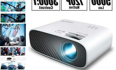 2020 mini movie projector 5000 lux full