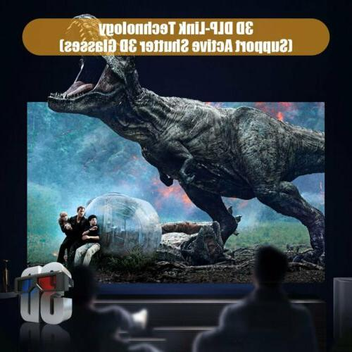 2020 Android Protable Video Projector Built-in