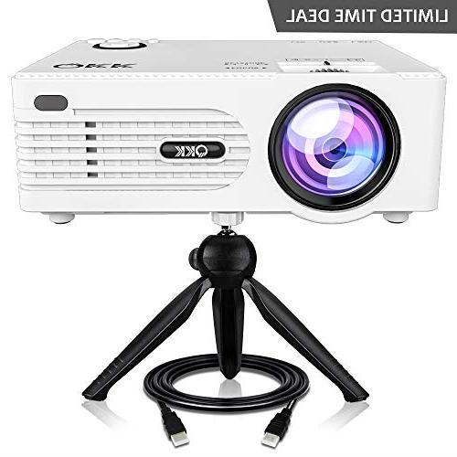 2400 lux mini projector full hd led