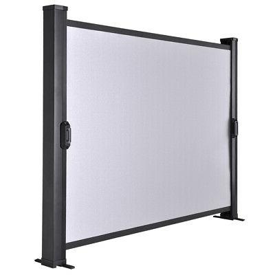 "30"" Mini Projection Screen Handheld Projector Mobile Home Mo"