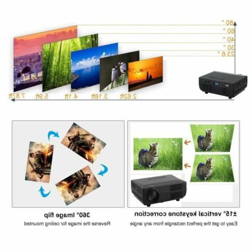 3D LED Multimedia HD Home Theater VGA HDMI BE