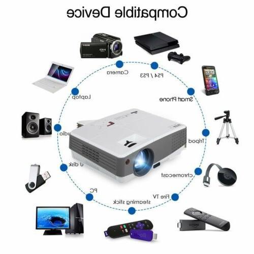 EUG LED HD Home Game PS4 HDMI*2