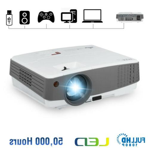 4000lm hd 1080p mini led projector portable