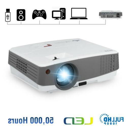 hd 1080p mini led projector portable movie