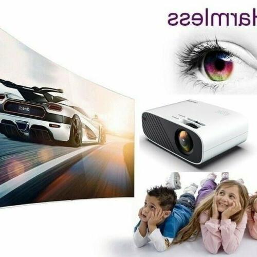 4K 1080P LED Video Projector Cinema HDMI