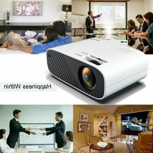4K WiFi 3D LED Mini Projector Cinema HDMI