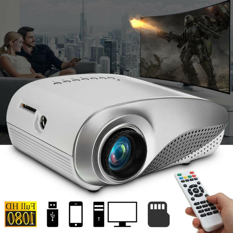 3D HD Mini Projectors Home Theaters B HDYI