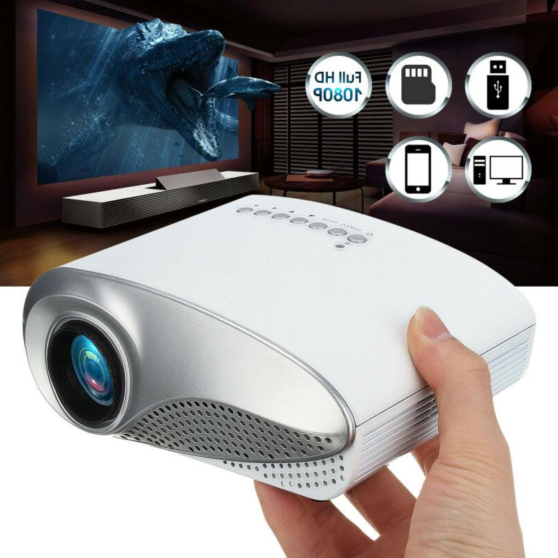 3D Mini Projectors Home Theaters B VGA HDYI TV