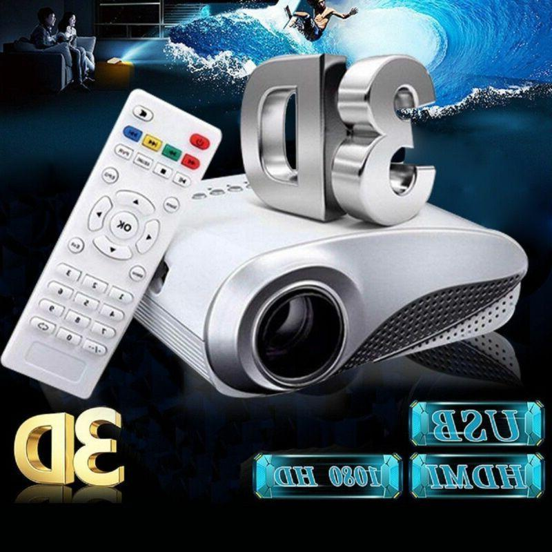 3d full hd 1080p mini projectors led