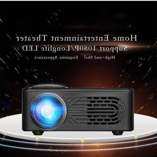 Projector LED Home Theater USB Projectors
