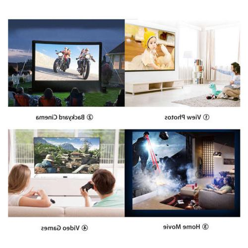3D Projector Theater USB Projectors