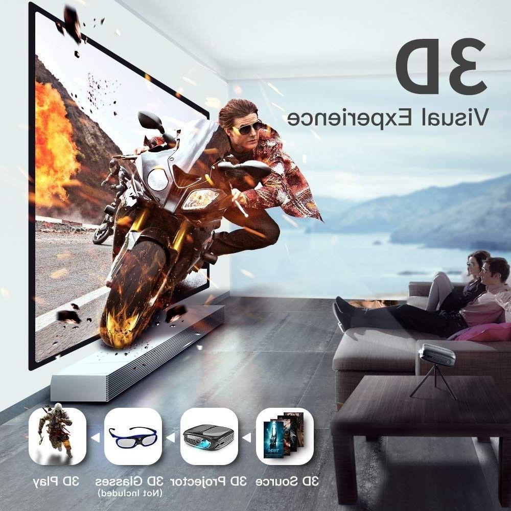 3D ELEPHAS WiFi DLP Airplay
