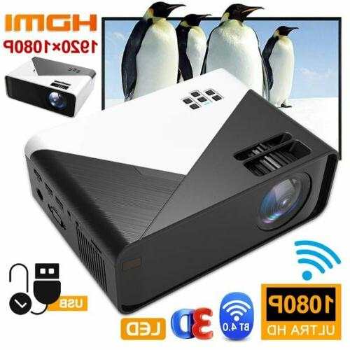 3D Wireless Projector HD USA