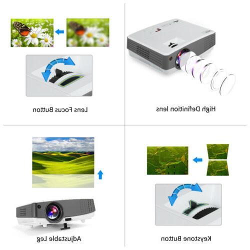 EUG 4000lm 1080P Mini LED Movie HDMI