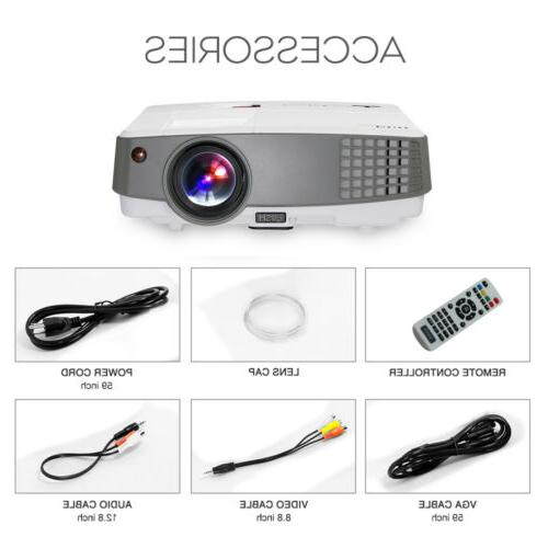 EUG 4000lm 1080P Mini LED USB Game