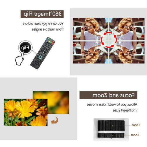 EUG Mini Projector Movie USB