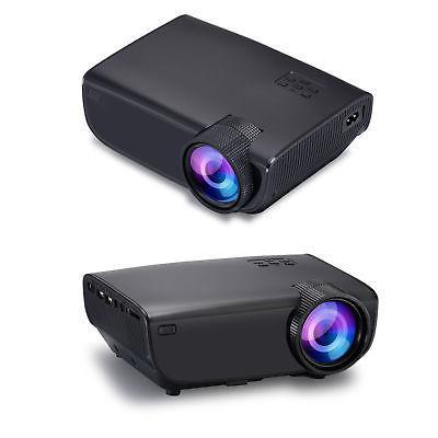 4K 1080P 7000 LED Mini Theater USB