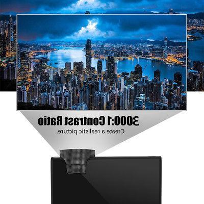 4K 1080P LED Theater Multimedia HDMI VGA USB