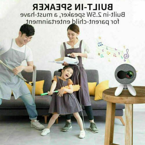 4K 1080P HD 3D Video Mini Portable Theatre US