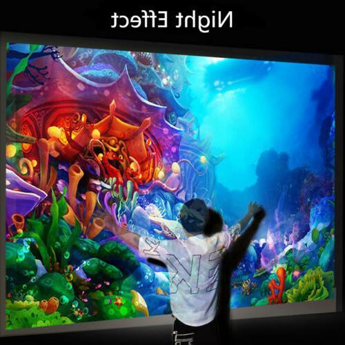 4K 3D LED Mini Theatre Home 18000LM K