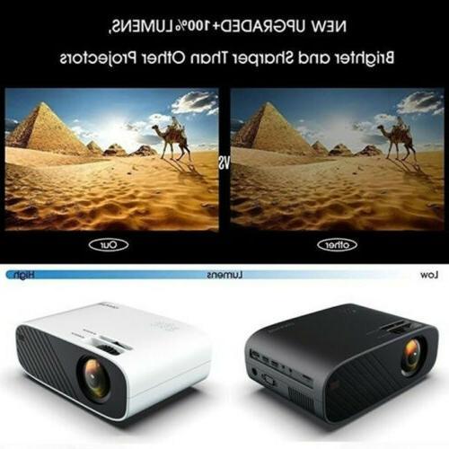 4K 1080P WiFi 3D LED Mini Theatre Home 18000LM HDMI