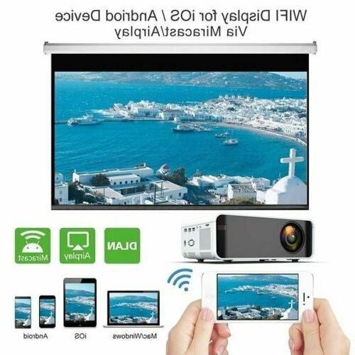 Mini Same Screen 3D Home Video Projector