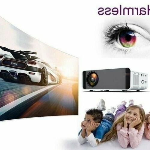 18000 LED 4K Mini Wifi Video Home Theater Cinema HDMI