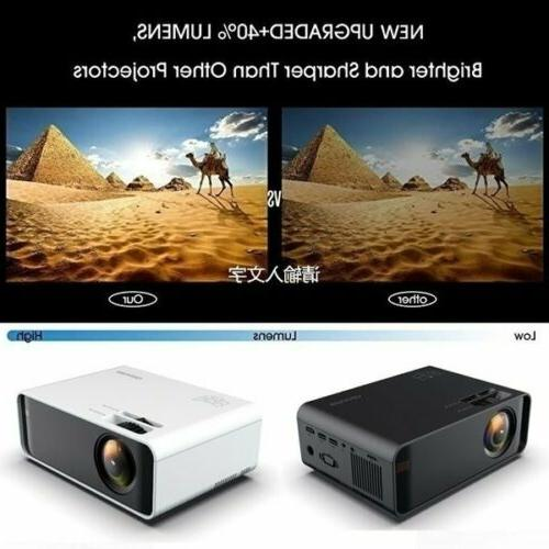 18000 Lumens LED 4K Video Home Theater Projector Cinema