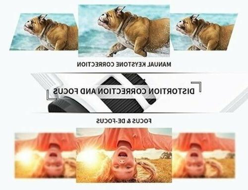 4K 1080P 3D LED Mini Projector