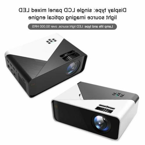 4K HD 1080P Mini Projector Home HDMI