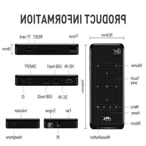 4K Smart Bluetooth Home Theater Cinema 8/16G