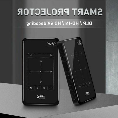 4K DLP WiFi Bluetooth Home Theater Cinema 8/16G