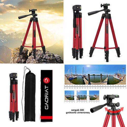 50 light weight portable travel tripod