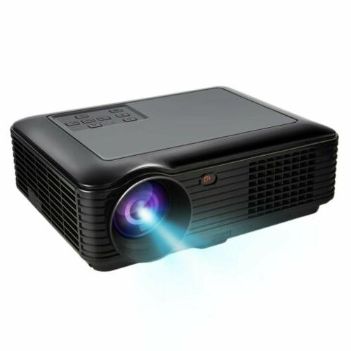 5000 HD Home Projector LED VGA