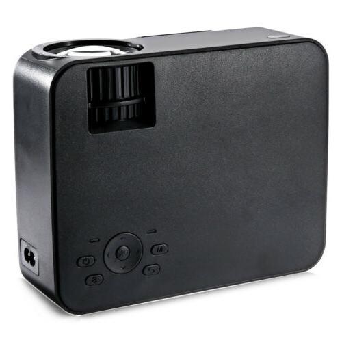 5000 Lumens LCD 1080P Home Theater VGA USB SD