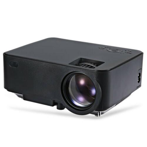 5000 Lumens LED LCD 1080P Home Theater Cinema VGA HDMI USB SD AV