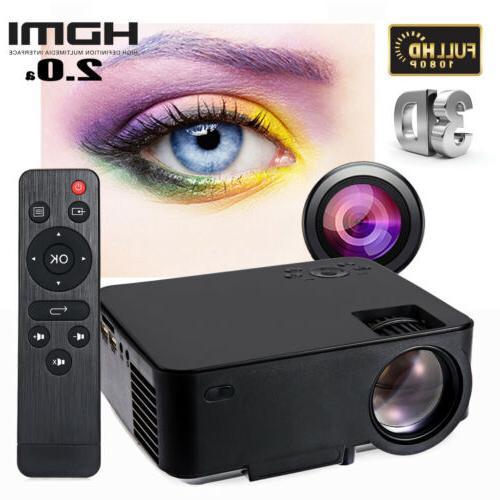 5000 lumens mini led lcd projector 1080p