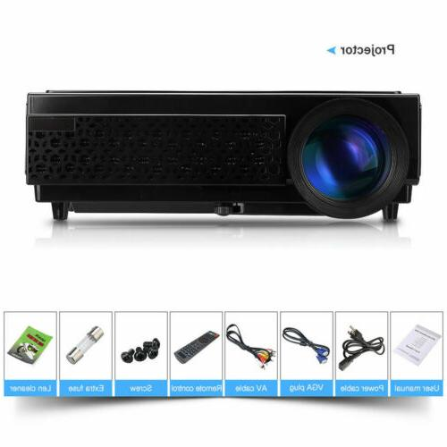 5000 Mini LED LCD Projector 1080P Home