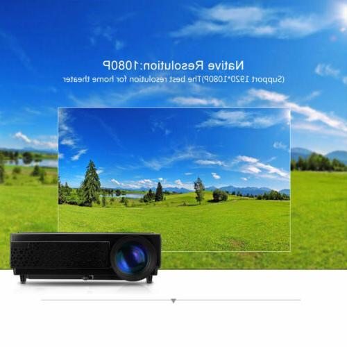 5000 Mini LCD 3D 1080P Theater HDMI*2/USB*2/VGA/TV