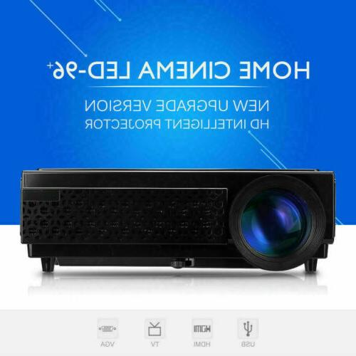 5000 lumens mini led lcd projector 3d