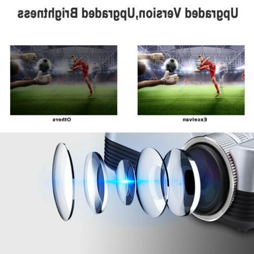 Mini 5000 1080P Projector LED LCD HDMI