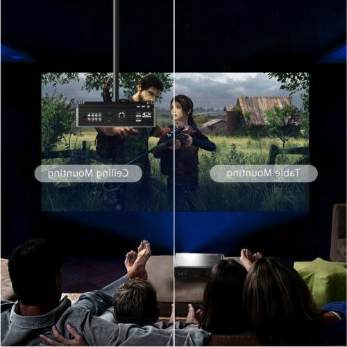 5000 Lumens Home Theater Cinema HDMI VGA SD