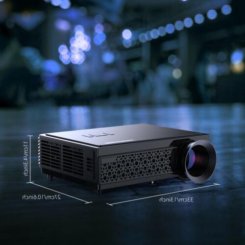 5000 Portable 3D HD Home VGA SD