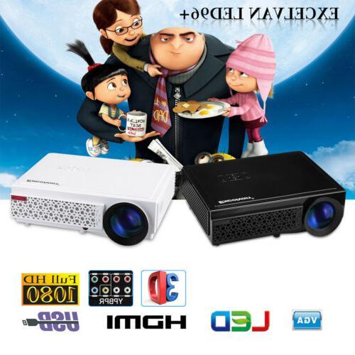 5000 Home Theater Cinema HDMI VGA SD