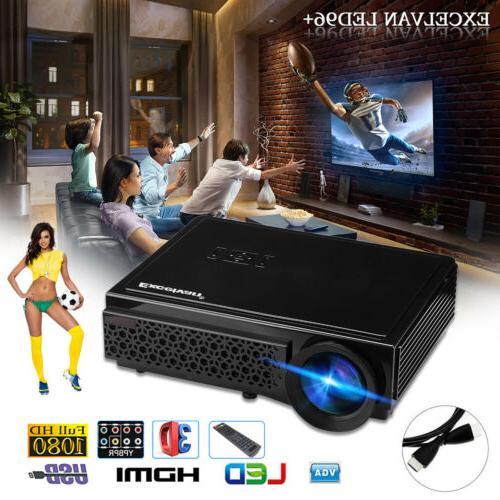 5000 3D 1080P Home Theater Cinema VGA SD