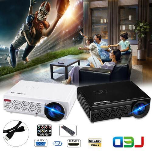 5000 lumens portable mini 3d projector hd