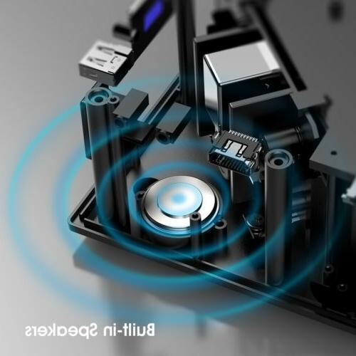5000 Lumens Portable Mini Projector HD 1080P Theater Cinema USB VGA